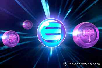 Next >> Enjin Coin Price Up 19.3% to $1.39 – How to BUY ENJ - Inside Bitcoins