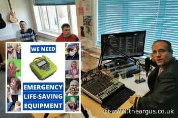 Brighton charity campaigns for defibrillator for day centre
