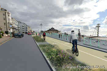 Brighton could be getting a new seafront cycle lane