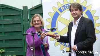 Der Rotary-Club Waren hat erstmals eine Präsidentin - Nordkurier