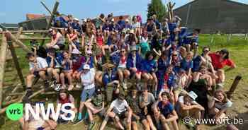 KSA Mortsel op kamp op de campingweide van Festival Dranouter - VRT NWS