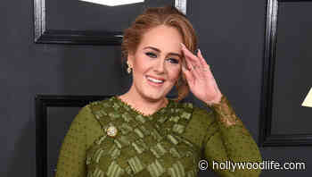 Adele Is Stylish In Fitted Leggings & Sandals At NBA Final After 100 Lb. Weight Loss - HollywoodLife