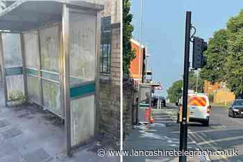 'Tell us and we will clean it': Filthiest bus stop in town is cleaned