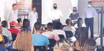 Projeto social do vereador Eduardo Lima chega ao Santa Maria - Fax Aju