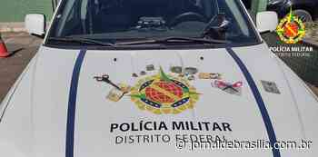 PMDF prende homem por tráfico em Santa Maria - Jornal de Brasília