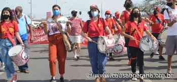 Toque na Bateria Zumbi dos Palmares por Fora Bolsonaro • Diário Causa Operária - Causa Operária