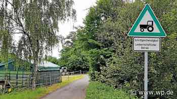 Radweg Kreuztal-Hilchenbach führt nun durch die Mahlbach - Westfalenpost