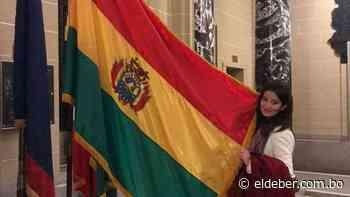 Programa de la Unión Europea nombra 'Embajadora de la Paz' a la activista Jhanisse Vaca Daza - EL DEBER