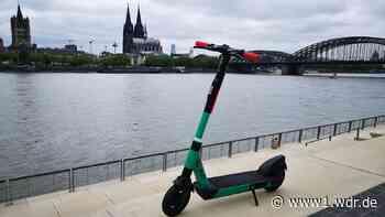 Köln führt neue Regeln für E-Scooter ein