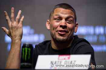 Nate Diaz Says He'd Rather Fight Kamaru Usman in Response to Gilbert Burns' Fiery Twitter Call-Out - EssentiallySports