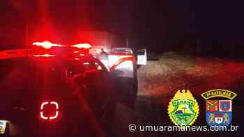 Assaltantes roubam caminhonete em Cruzeiro do Oeste e são presos pouco tempo depois pela PM em Tapejara - Umuarama News
