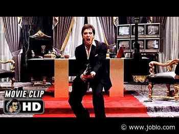 "SCARFACE Clip - ""Say Hello to My Little Friend!"" (1983) Al Pacino - JoBlo.com"