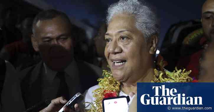 Samoa's political crisis ends and first female prime minister installed after court ruling