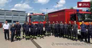 Feuerwehrleute aus dem Kreis Biberach helfen im Katastrophengebiet - Schwäbische - Schwäbische