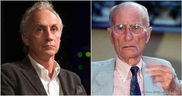 """""""Indro, il 900"""", Marco Travaglio presenta il libro su Montanelli a 20 anni dalla scomparsa: rivedi la diretta"""