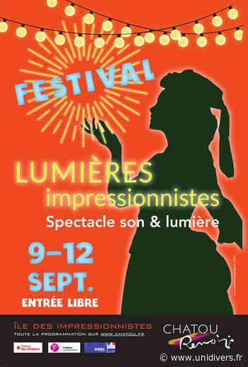 Festival Lumières Impressionnistes à Chatou chatou jeudi 9 septembre 2021 - Unidivers