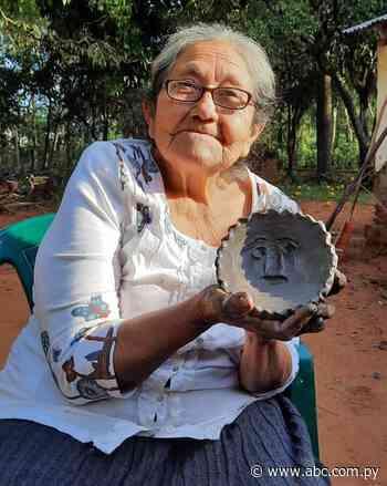 Declaran tesoro nacional vivo a alfarera de Yaguarón - Nacionales - ABC Color