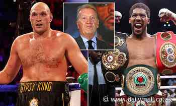 Anthony Joshua vs Tyson Fury: Mega fight unlikely to take place in the UK, admits Frank Warren
