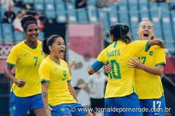 Seleção feminina goleia China na estreia do Brasil na Olimpíada - Jornal de Pomerode
