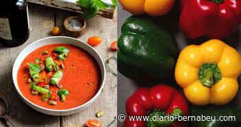 La receta del cospasmo de pimienta. La sopa fría española es la merienda perfecta para el verano - Diario Bernabéu
