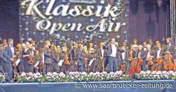 Klassik-Open-Air in Homburg mit dem Homburger Sinfonieorchester - Saarbrücker Zeitung