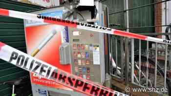 Zeugen gesucht: Unbekannte brechen Zigarettenautomat in Pinneberger Bahnhofstraße auf | shz.de - shz.de