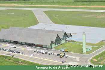 25 de junho de 2021 Aeroporto de Aracati retoma voos comerciais em julho - Ceará