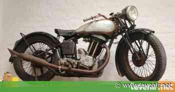 Warneton : la moto de 1935 a appartenu à son grand-père - l'avenir.net