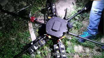 Drone with 5 kilograms IED recovered in J&K