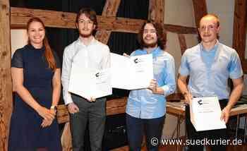 Markdorf: Kreativ wie Goethe und Da Vinci: Jugendliche freuen sich über die Förderpreise des Wirtschaftskreises und der Stadt Markdorf - SÜDKURIER Online