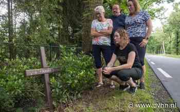 Folkert Zijnstra (17), de jongen die niet meer terugkeerde op het dorpsfeest van Weiteveen. Pas de volgende ochtend werd hij gevonden. Niet meer in leven   bermmonumenten
