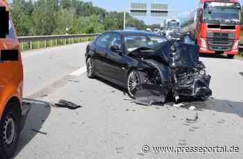 POL-PDKL: A6/Ramstein-Miesenbach, Zwei Leichtverletzte bei Auffahrunfall - Presseportal.de