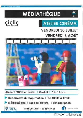 Atelier Cinéma – LEGO EN SERIE Espace culturel de Gien vendredi 30 juillet 2021 - Unidivers