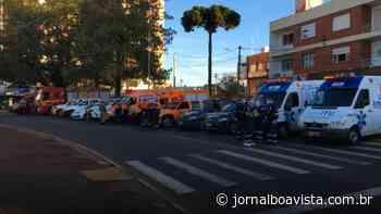 Forças de segurança e socorro de Erechim prestam homenagem a bombeiros mortos em incêndio na Capital - Jornal Boa Vista