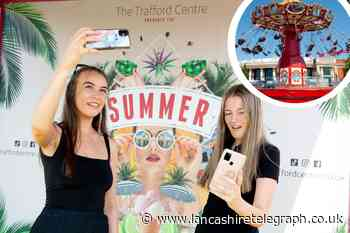 Manchester's Trafford Centre launch Summer Social event
