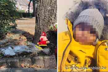 Bloemen en steunactie voor verongelukte Ilyas (1,5) aan speeltuin 't Pelterke in Pelt