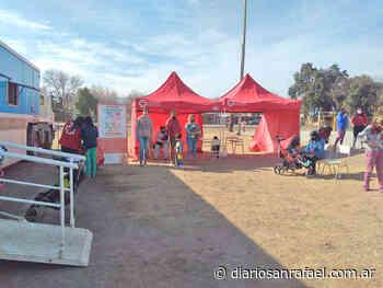 La unidad pediátrica móvil de CONIN visita diversos puntos de San Rafael - Diario San Rafael