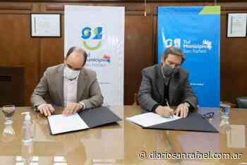 Centros wifi: DGE firmó acuerdo con el municipio de San Rafael - Diario San Rafael