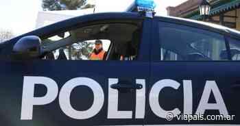 Bicichorro armado asaltó a un peatón - Vía País