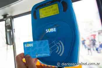 Tarjeta SUBE: en agosto podría estar debutando el sistema en San Rafael - Diario San Rafael