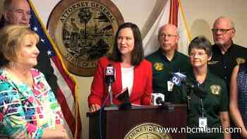 Florida Attorney General Tests Positive for COVID-19