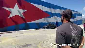 A Dozen Artists Paint What's Thought to be Largest Cuban Flag in Wynwood