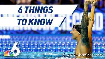 6 Things to Know: Florida Native Swimming for Gold Greatness at Tokyo Olympics