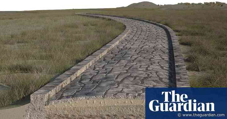 Ancient Roman road and dock discovered in Venice lagoon