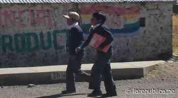 Puno: en 118 colegios de Sandia iniciarán clases semipresenciales - La República Perú