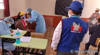 Puno: Defensoría pide garantizar vacunación de todos los mayores de 60 años - La República Perú