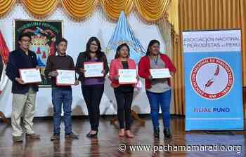 Eligen nueva directiva de la Asociación Nacional de Periodistas en Puno - Pachamama radio 850 AM