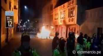 Puno: incendian y saquean local nocturno que no cumplía con medidas para prevenir el COVID-19 - El Comercio Perú