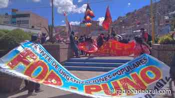 Puno: Ciudadanos se manifestaron en rechazo al incremento de precios de los productos de primera necesidad - Radio Onda Azul
