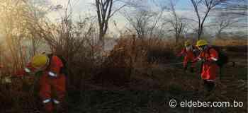 Reportan dos nuevos incendios forestales en San Matías y Laguna Concepción - EL DEBER